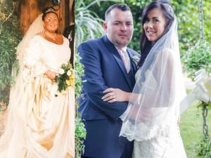 Bạn trẻ - Cuộc sống - Giảm 80kg để kết hôn với 'phi công trẻ' kém 12 tuổi