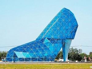 Phi thường - kỳ quặc - Nhà thờ hình giày cao gót kỳ dị ở Đài Loan