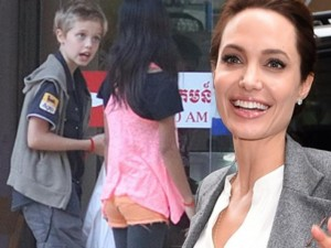 Đời sống Showbiz - Angelina Jolie bí mật nhận thêm con nuôi tại Campuchia