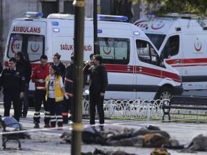 Thế giới - Nổ lớn rung chuyển Thổ Nhĩ Kỳ, 25 người thương vong
