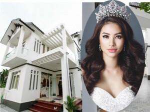 Đời sống Showbiz - Lời đồn đại hoang đường về căn biệt thự của Phạm Hương
