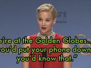 Jennifer Lawrence bị chỉ trích vì  ' bắt bẻ '  phóng viên