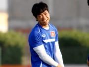 """Bóng đá - U23 VN: Cận cảnh gương mặt """"xấu xí"""" của Công Phượng"""