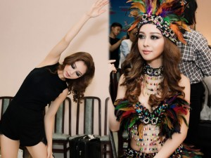 Thời trang - Jennifer Phạm dừng 'Bước nhảy hoàn vũ' vì chấn thương?