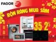Siêu khuyến mại bếp từ Fagor 35% hút khách dịp Tết