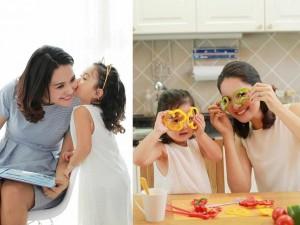 Thời trang - Khoảnh khắc đáng yêu của Hoa hậu Hương Giang và con gái