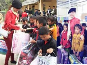 Á hậu Dương Yến Ngọc khởi động năm mới bằng từ thiện