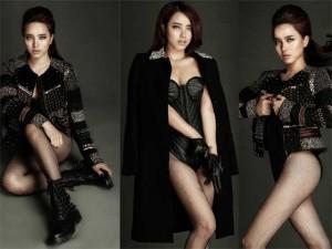 Hải Băng  ' gây choáng '  với tạo hình giống hệt Lee Hyori