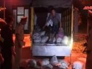 Thị trường - Tiêu dùng - Liên tiếp bắt 2 xe thực phẩm bẩn trên đường Nam tiến