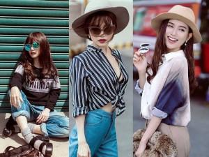 Thời trang - 'Gái ế' Sĩ Thanh nổi loạn với street style xuống phố