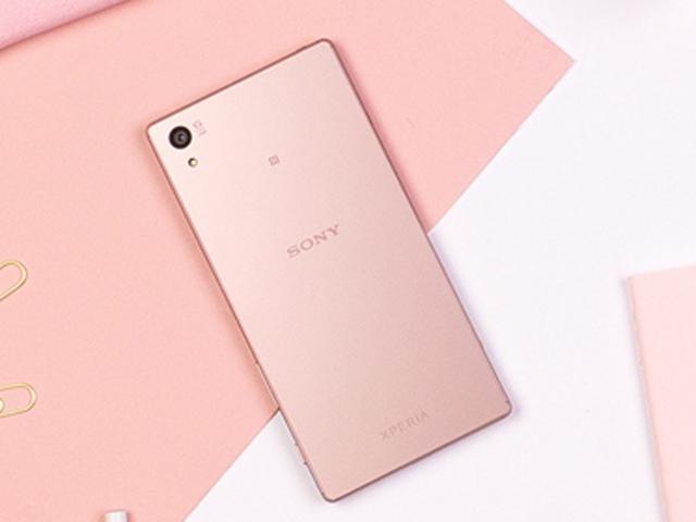 Cận cảnh Sony Xperia Z5 màu hồng vừa ra mắt