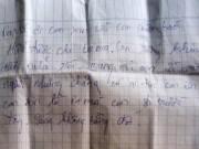 Tin tức trong ngày - Nam sinh lớp 9 tự tử để lại thư tuyệt mệnh