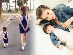 Thời trang - Bộ sưu tập đồ đôi mẹ - con cực 'chất' của Elly Trần