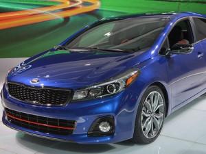 Tin tức ô tô - Kia Forte 2017 chính thức vén màn