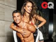 Bóng đá - Ronaldo nóng bỏng cùng thiên thần Victoria Secret