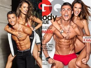 Thời trang - Cristiano Ronaldo tình tứ bên siêu mẫu sexy nhất Brazil