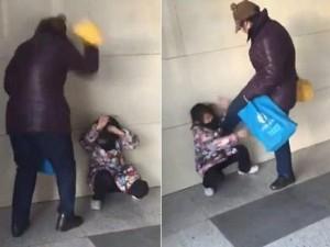 Thế giới - Video: Bà TQ đánh đập cháu tại nơi công cộng gây phẫn nộ