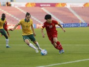 Video bàn thắng - U23 Việt Nam - U23 Australia: Đẳng cấp & may mắn