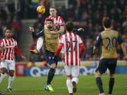Bóng đá - Stoke City - Arsenal: Trong nỗi nhớ Ozil