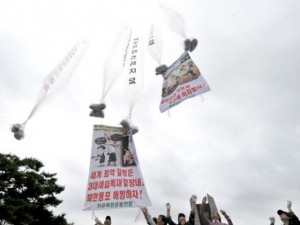 Triều Tiên thả bóng bay rải 1 triệu truyền đơn sang HQ