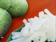 Ẩm thực - Cách làm mứt bí giòn ngọt, trắng muốt