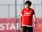 """Bóng đá - HLV Miura """"thơ thẩn"""" ở buổi tập cuối cùng U23 VN"""