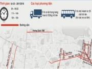 Video An ninh - Sơ đồ phân luồng giao thông dịp Đại hội Đảng XII
