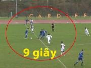 Bóng đá - 9 giây: Giao bóng, solo và ghi bàn