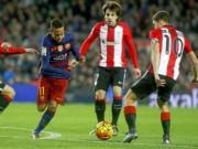 Bóng đá - Chi tiết Bilbao - Barca: Nỗ lực muộn màng (KT)