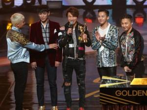 Big Bang hạnh phúc với giải danh giá nhất trong năm