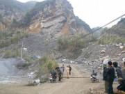 Tin tức trong ngày - Sập mỏ đá, 2 người chết, 5 người mắc kẹt