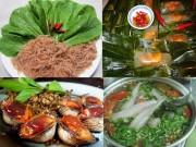Ẩm thực - Món ăn dân dã trên quê hương Đại tướng Võ Nguyên Giáp