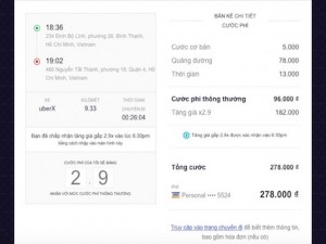 Công nghệ thông tin - Cách Uber tính toán và tăng giá taxi vào giờ cao điểm