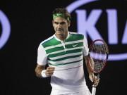 """Thể thao - Federer hạ Dimitrov, """"quý ngài 300"""" ở Grand Slam"""