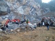Tin tức trong ngày - Đã có 5 người chết trong vụ sập mỏ đá ở Thanh Hóa