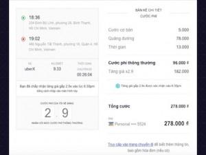 Cách Uber tính toán và tăng giá taxi vào giờ cao điểm