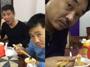 Vân Dung tung clip hậu trường 'đắt giá' của Táo Quân