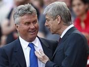 """Bóng đá - """"Ác mộng"""" của Wenger tự ứng cử thay Hiddink ở Chelsea"""