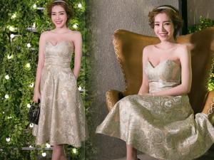 Thời trang - Elly Trần gợi cảm thu hút mọi ánh nhìn ở dạ tiệc