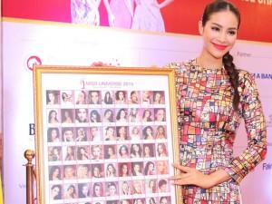Thời trang - Phạm Hương bán đấu giá 79 chữ ký thu về 120 triệu