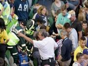 Thể thao - Australian Open ngày 6: Bố vợ Murray ngất xỉu, Ivanovic hoảng hồn