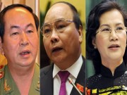Tin tức trong ngày - 3 ứng viên Chủ tịch nước, Thủ tướng và Chủ tịch Quốc hội