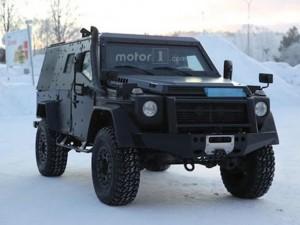 Ô tô - Xe máy - Thử nghiệm xe bọc thép của Mercedes