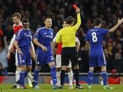 Bóng đá - Diego Costa bị nghi ăn vạ khiến Arsenal dính thẻ đỏ