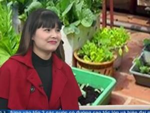 Bạn trẻ - Cuộc sống - Gặp người phụ nữ thành thị đam mê trồng rau tại nhà