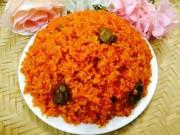 Ẩm thực - Cách nấu xôi gấc đỏ, dẻo, thơm cho năm mới may mắn