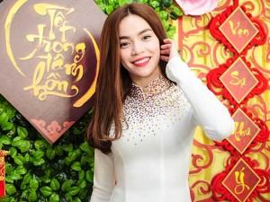 Ca nhạc - MTV - Hồ Ngọc Hà duyên dáng với áo dài truyền thống