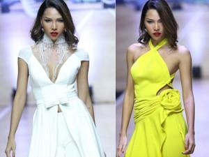 Thời trang - Minh Triệu khoe đường cong đẹp, sải bước gợi cảm