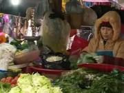 Video An ninh - Mưa rét, giá rau tăng chóng mặt