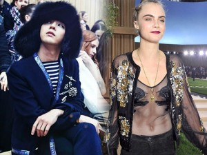 Thời trang - G-Dragon, Cara Delevingne gây náo loạn show Chanel